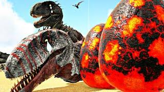 A História Do Bebê Papai  Ndoraptor Perdi Minha Esposinha Ark Survival Evolved PTBR