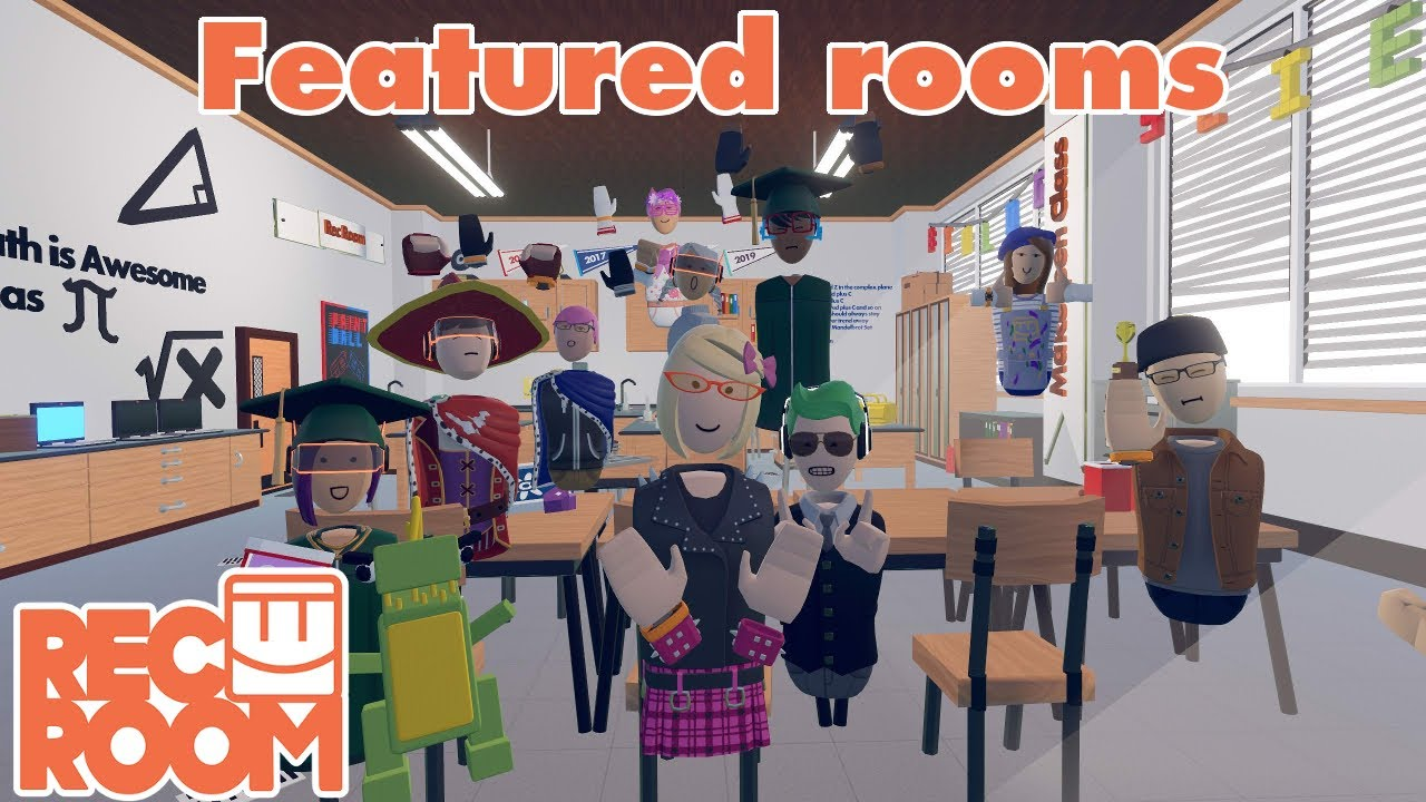 Rec Room - Featured Rooms (Community Builds) - Week of July 6th