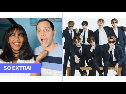 BTS BEING EXTRA REACTION (BTS REACTION)
