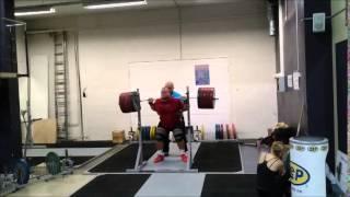 Mart Seim Squat/kükk 320kg 10x (EESTI TUGEVAIM MEES)