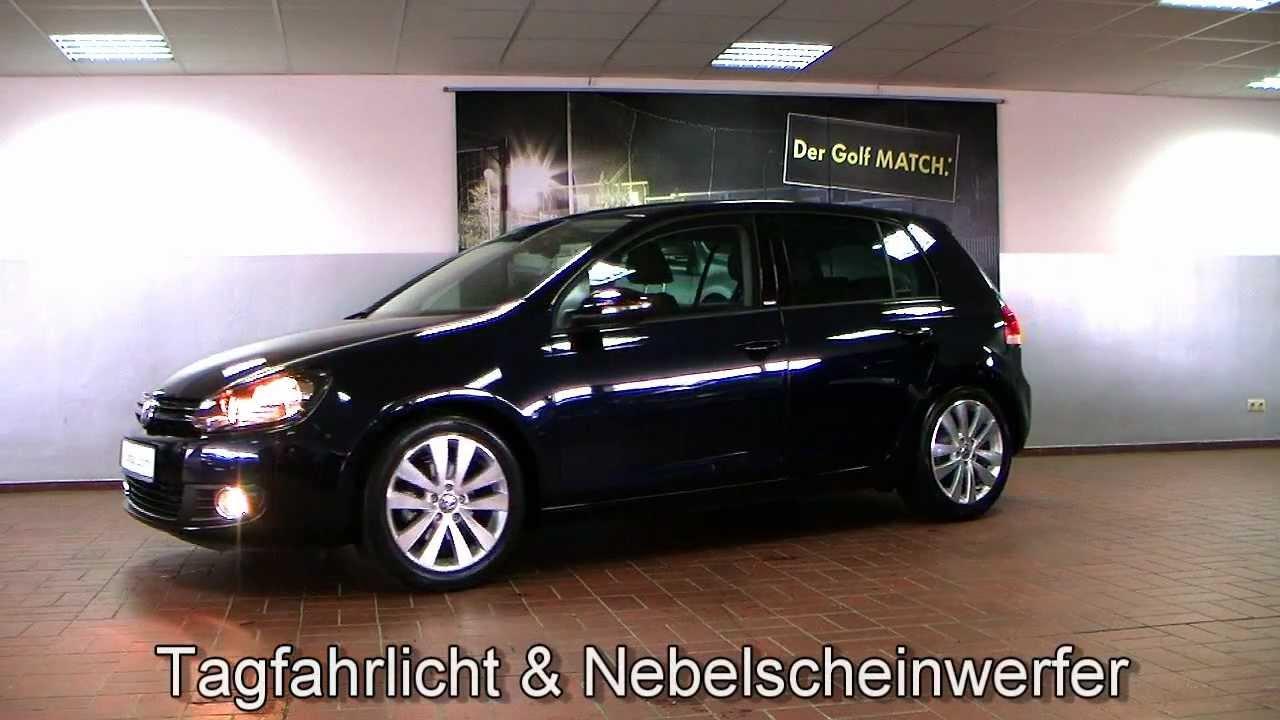 Volkswagen Golf VI 1,6 TDI Style Moonlight Blue Perleffekt BW251712 www.autohaus.biz/czychy ...