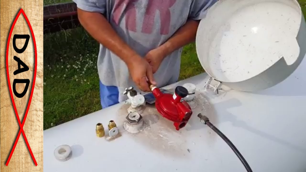 propane generator fixed how to change propane high pressure