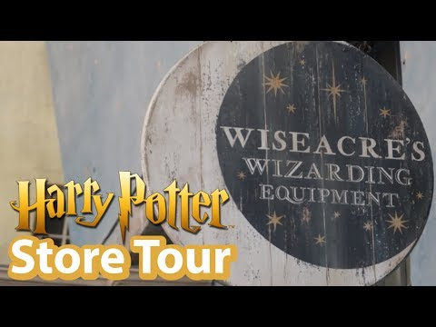 Harry Potter Merchandise In Diagon Alley's Wiseacre's Store | Universal Studios Store Tours
