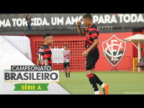 Melhores Momentos - Vitória 2 x 0 Atlético-MG - Brasileirão (11/06/2017)