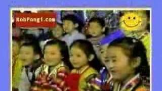 Cute Japanese Girl Sing