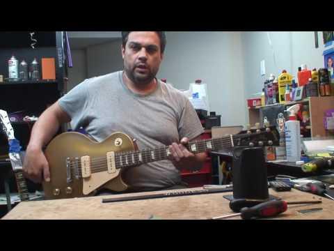 2011 Les Paul Studio Goldtop P90: Setup & Demo