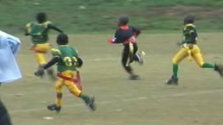 Bulldogs vs Greenbelt QB Draw TD