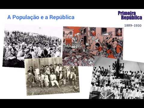 A Primeira República - 1889-1930 - Mistória