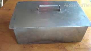 коптильня для горячего копчения(Простая и незамысловатая коптильня для горячего копчения