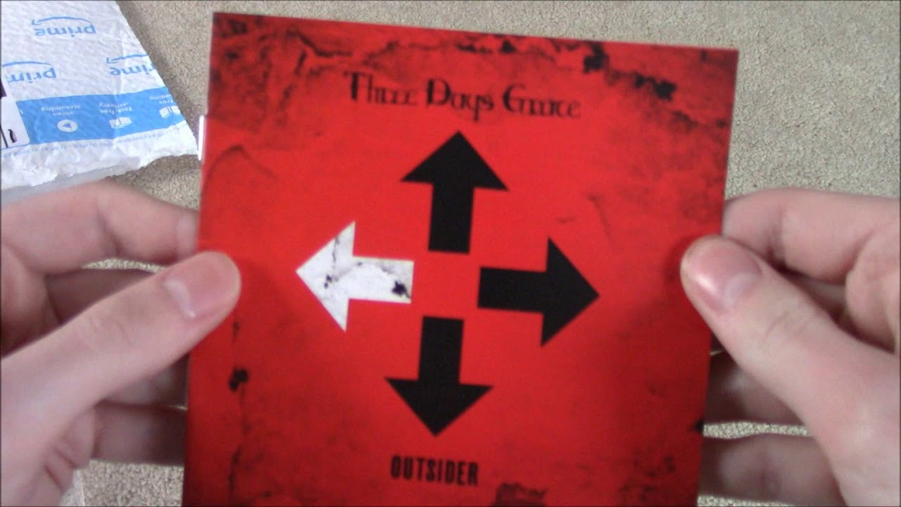 Three Days Grace - Outsider Unboxing