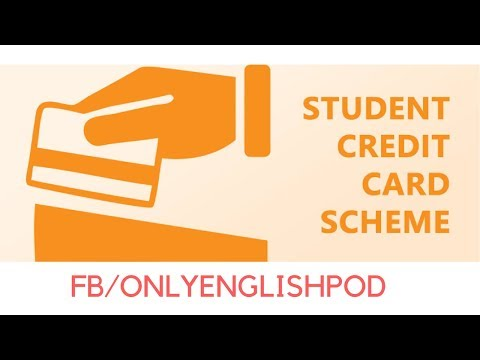 English Podcast - Esl English -  A Student Credit Card