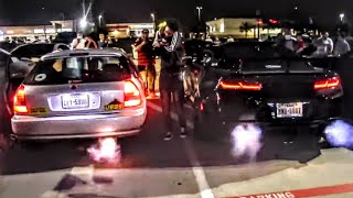 Honda Civic DESTROYS EVERYONE At The 2-Step Car Meet!