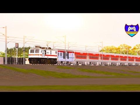 Sealdah New Delhi Rajdhani Express Part 1 in MSTS Open Rails