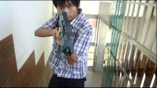 AE後製小練習2--槍戰完整版