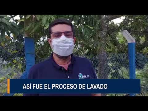 IBAL terminó los trabajos de lavado de tanques y la instalación del macromedidor