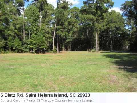 Saint Helena Island, Sc Real Estate For Sale - 6 Dietz Rd..