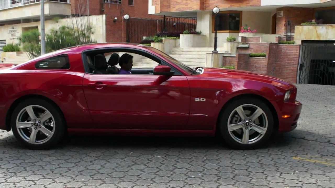 Así es el nuevo ford mustang 2013 que llegó a colombia