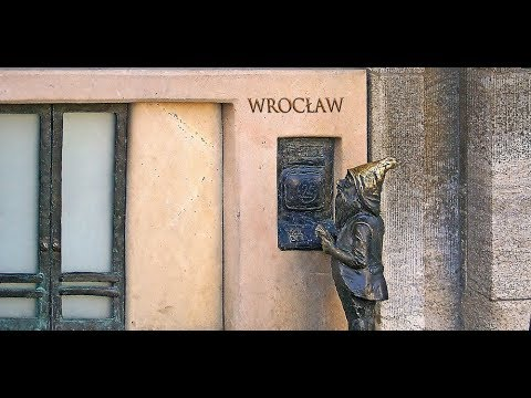Wrocław, city of gnomes, City in Poland full of dwarf statues, market square, travel,