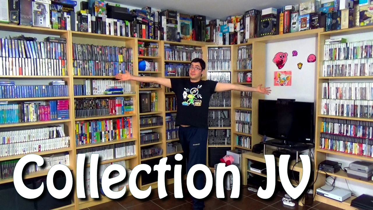 Toute ma collection de jeux vid o 2017 youtube for Meuble xbox one