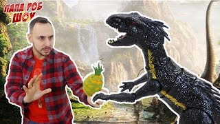 Папа Роб: обзор игры Jurassic Survival