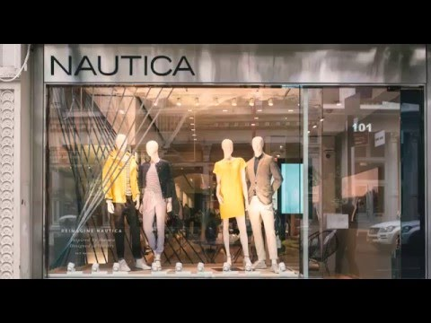 Nautica | The Making of our Global Flagship Boutique | 101 Prince Street NYC