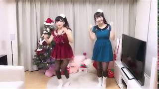 仮面ライダーGIRLSの黒田絢子と妹の天木じゅんによる恋ダンス.