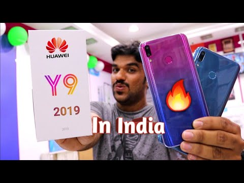Hindi | Huawei Y9 2019 Unboxing.. Launching In India