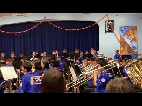 Kaimuki Middle School Top Band Winter Concert 2019 Vol.3