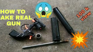 m4 tech How to make real gun Diy m4 tech