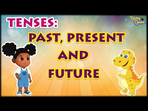 Past Tense, Present Tense And Future Tense With Examples | English Grammar For Kids