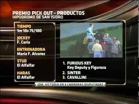 REVISTA DEL TURF. ESPN+. 19/04/12