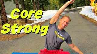 Build Core Strength & Powerful Flexibility Training Workout - Full Body Flexibility Stretches #abs