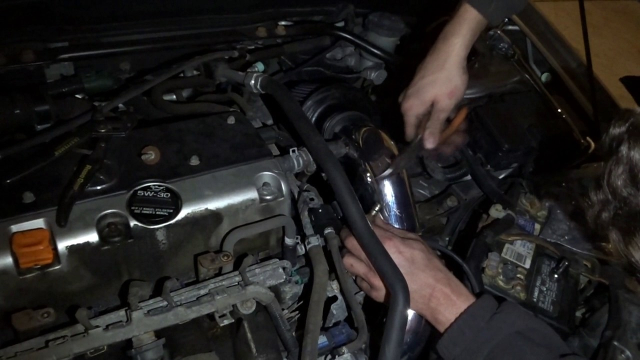 RSX TypeS Gets Cold Air Intake FOR MAD SUCKAGE YouTube - Acura rsx cold air intake