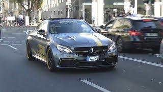 RENNtech Mercedes-Benz C63 S AMG Coupé w/ Akrapovic - LOUD Acceleration!