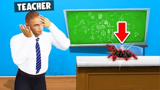 I PRANKED My TEACHER With A REAL SPIDER! (Bad Guys At School)