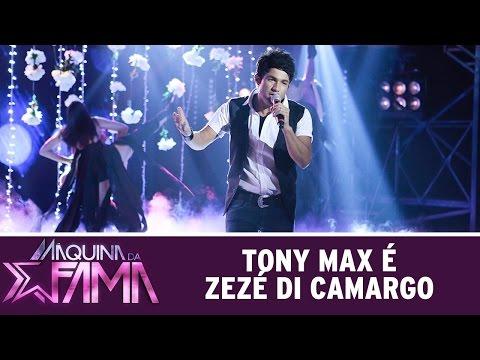 Máquina Da Fama (04/04/16) Tony Max é Zezé Di Camargo