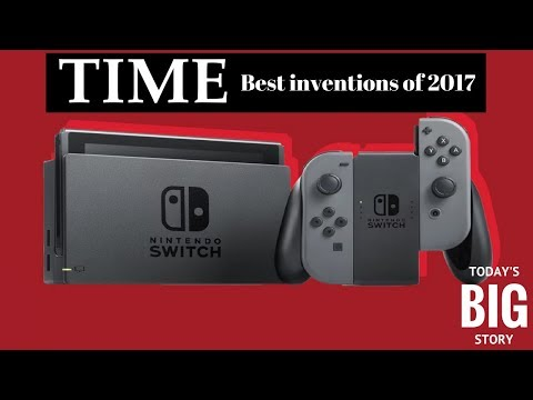 Today's BIG Story - TIME Magazine honors Nintendo and the Switch!