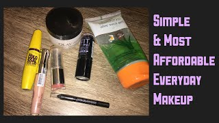Simple EveryDay MakeUp Routine|| Easy & Most Afforadable Makeup for Office/College ||Shruthi Diaries
