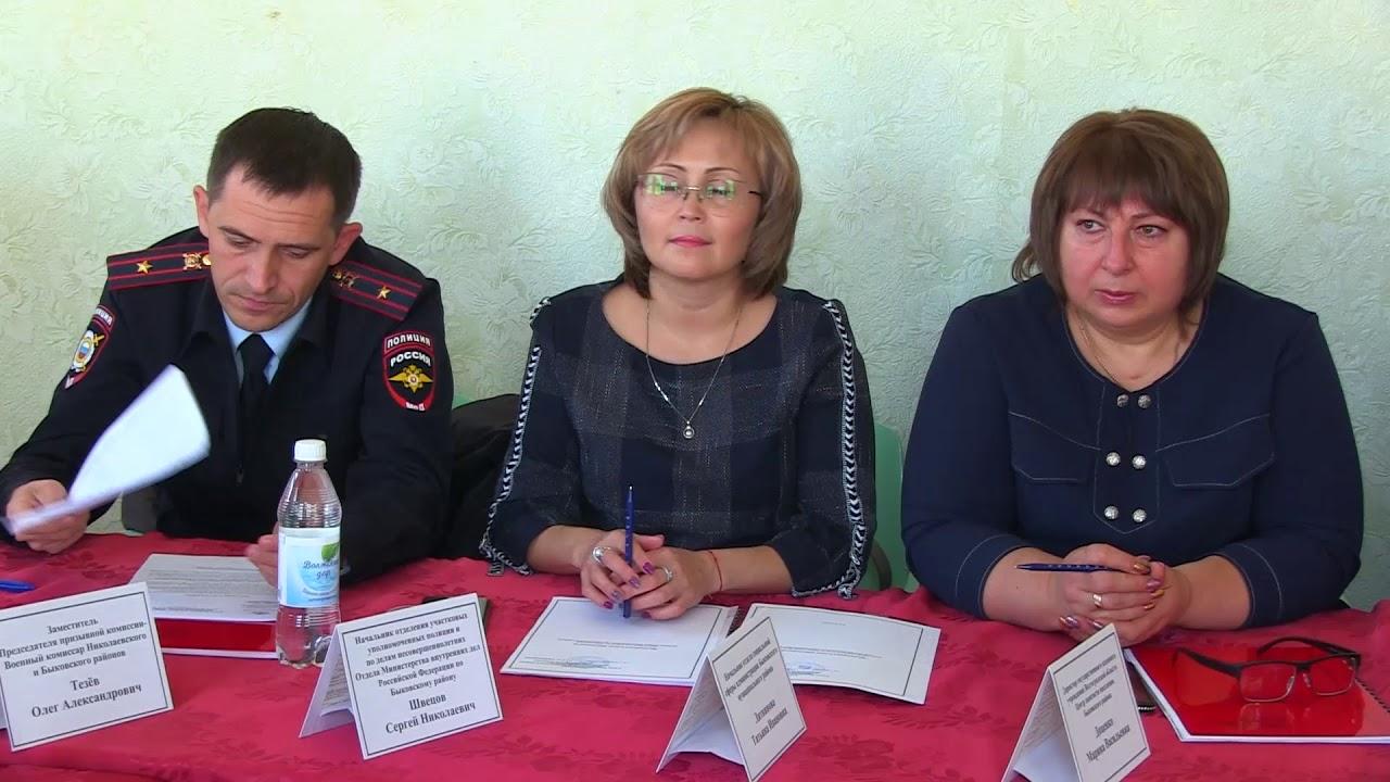 В Быковском районе началась призывная кампания