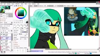 Splatoon 2 Possessed Agent 3 Speedpaint