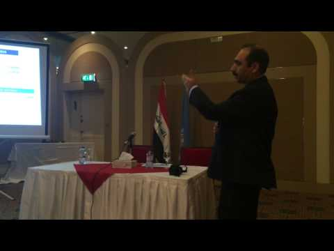 Dr Dauod Altaf Presentation of Health Emergency In Iraq, Baghdad June 2015