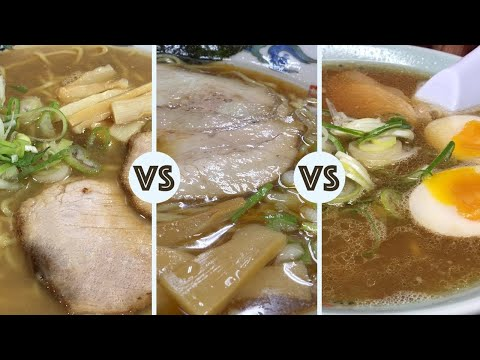 Ramen Battle in Asahikawa ★ ONLY in JAPAN