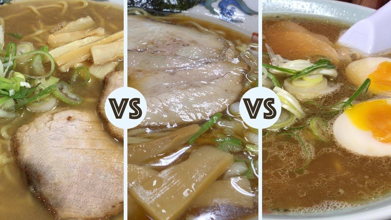 Ramen Battle in Asahikawa ★ ONLY in JAPAN