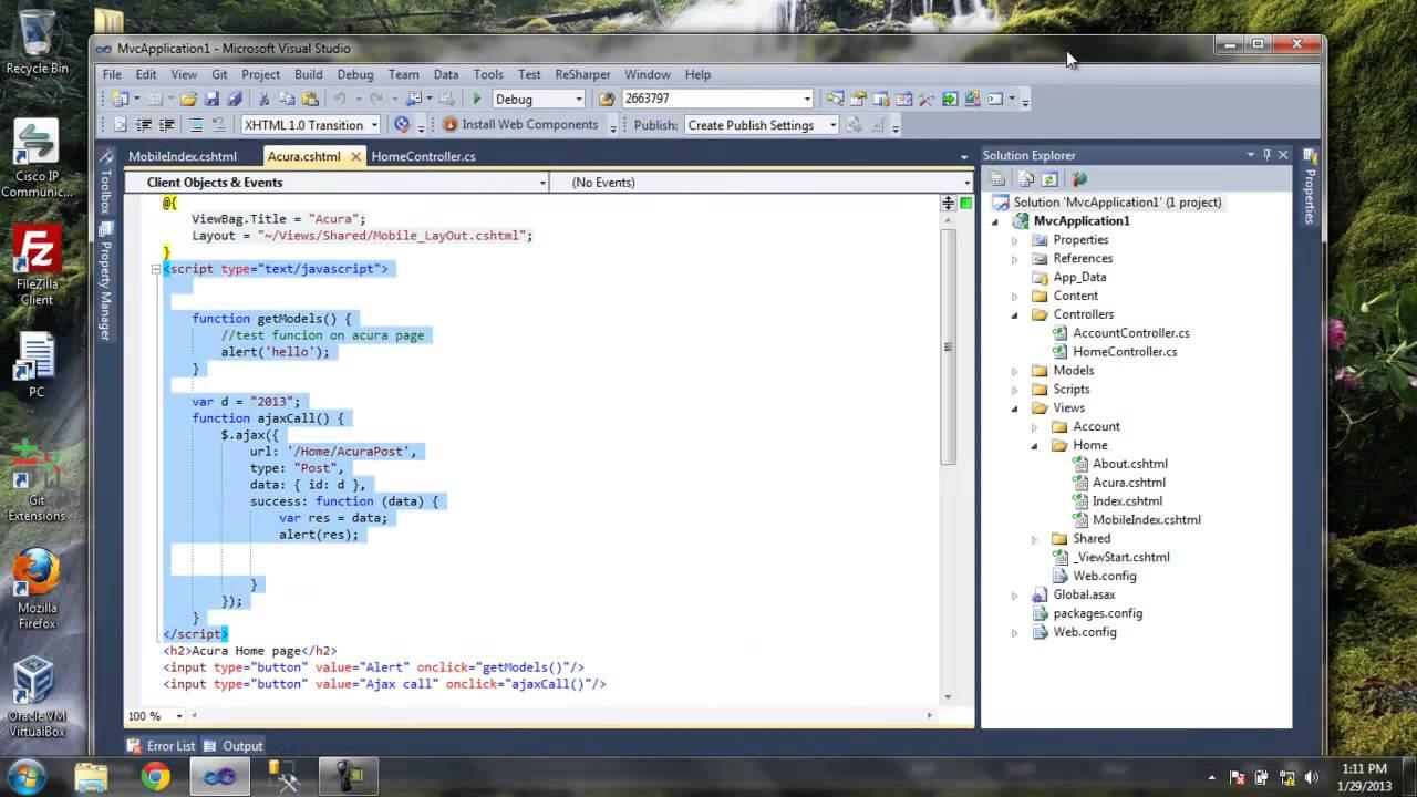 MVC 3 ASP NET Jquery Ajax Call