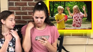 "Gracie & Olivia REACT to ""She Loves Me"" Music Video!"