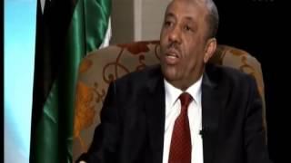 لقاء خاص مع رئيس الحكومة المؤقتة عبد الله الثني