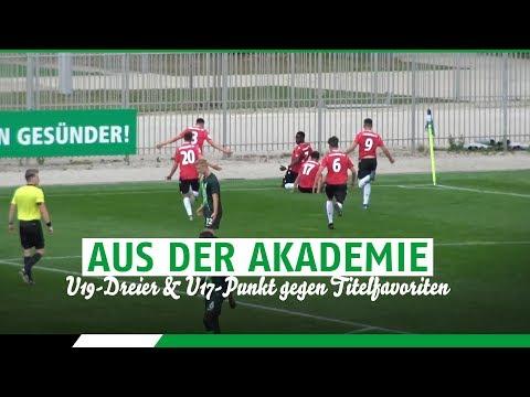 U19-Dreier & U17-Punkt gegen Titelfavoriten