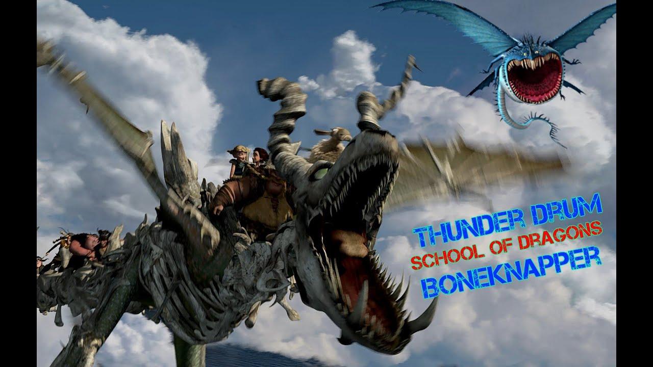 School of Dragons - Boneknapper & Thunderdrum - YouTube