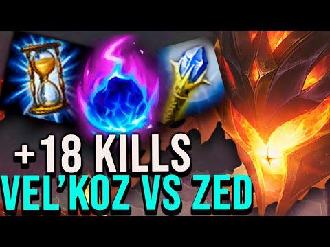 🙀¡VAMOS CONTRA NUESTRO MAYOR COUNTER! ¿LO HUMILLAMOS? +18 KILLS VEL'KOZ | League of Legends