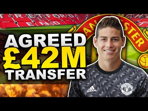 BREAKING: James Rodriguez Agrees To Join Manchester United For £42 Million?! | Transfer Talk